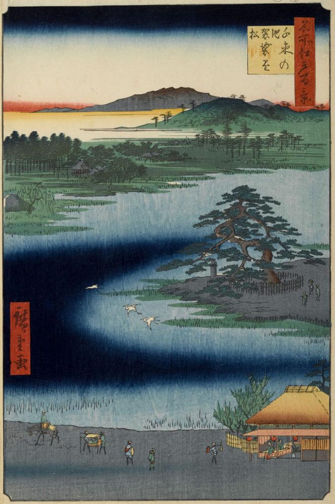 千束池浮世絵