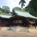 峯ヶ岡八幡神社 / 埼玉県川口市