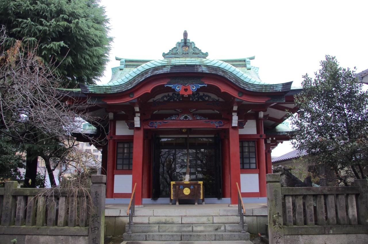 筑土八幡神社 / 東京都新宿区