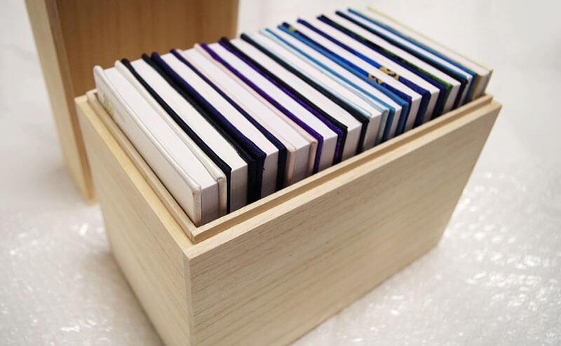 御朱印帳の保管方法・総桐箱の御朱印帳ケース