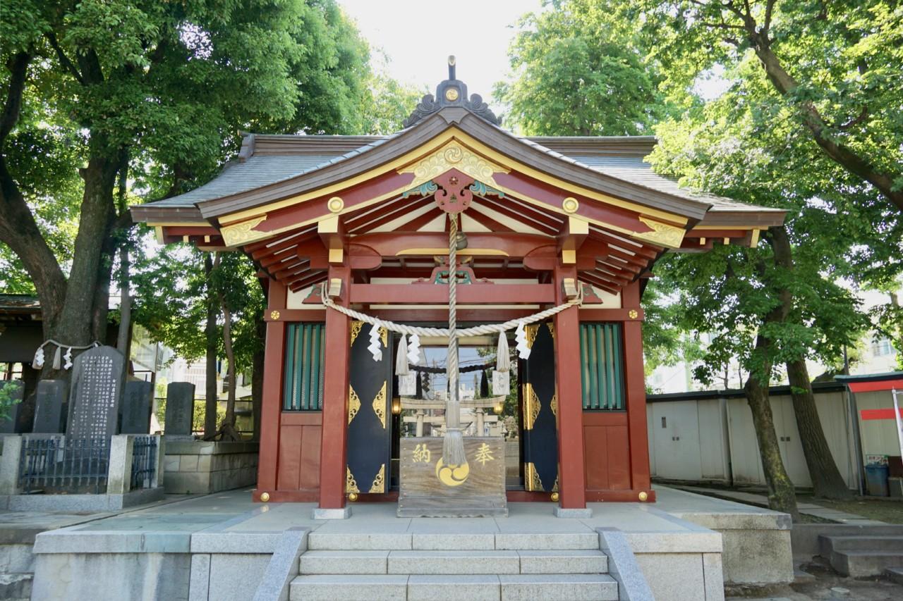 女塚神社 / 東京都大田区 | 御朱印・神社メモ
