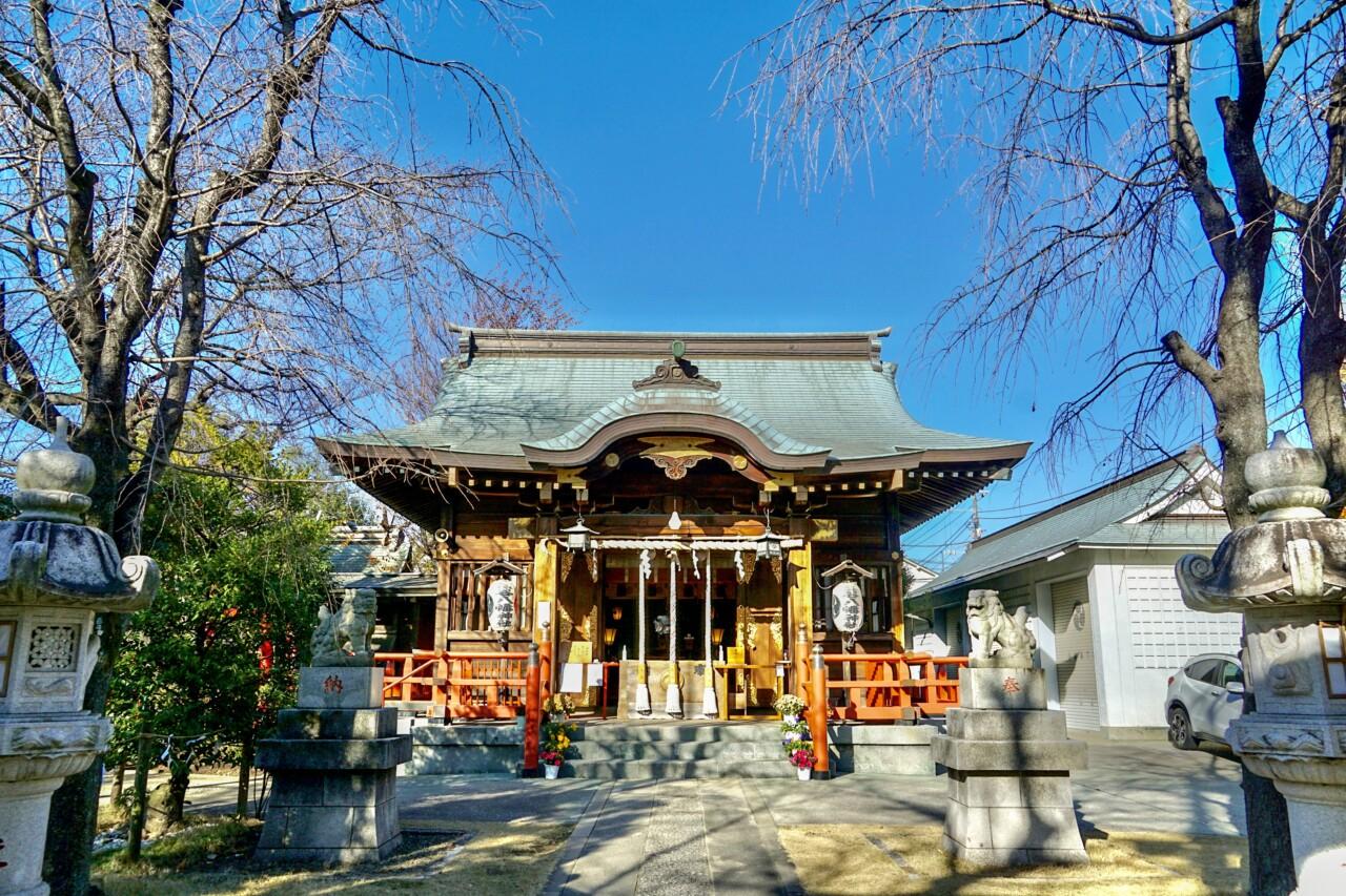 三谷八幡神社 / 東京都品川区   御朱印・神社メモ